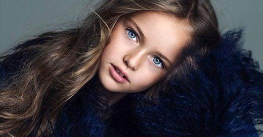 Kristina la niña más bonita del mundo, consigue contrato de modelaje