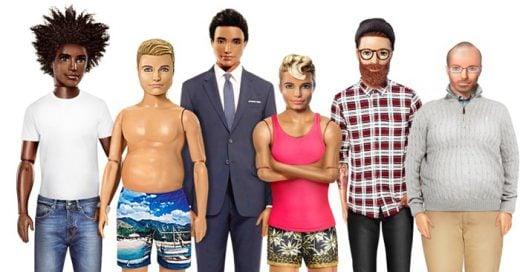 Después de que Mattel anunciará la nueva imagen de Barbie, ahora muestran una versión más real de Ken