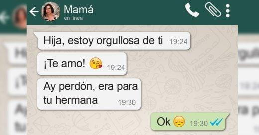 20 Mensajes de WhatsApp que solo una mamá envía