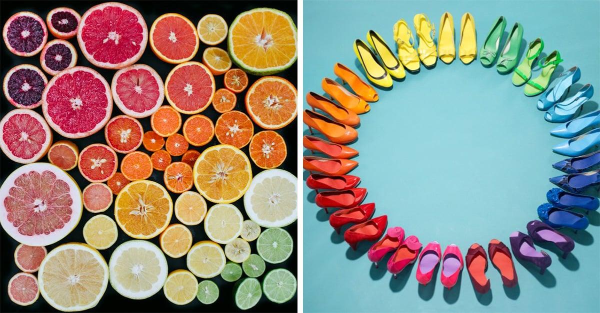 cosas que solo entenderan las personas obsecionadas con el color
