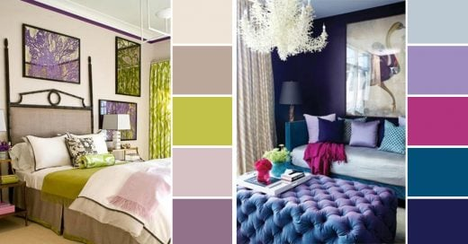 Paleta de colores para dormitorio