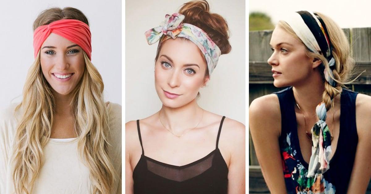 ¡HERMOSOS! 20 peinados con pañuelos que deberías probar este verano