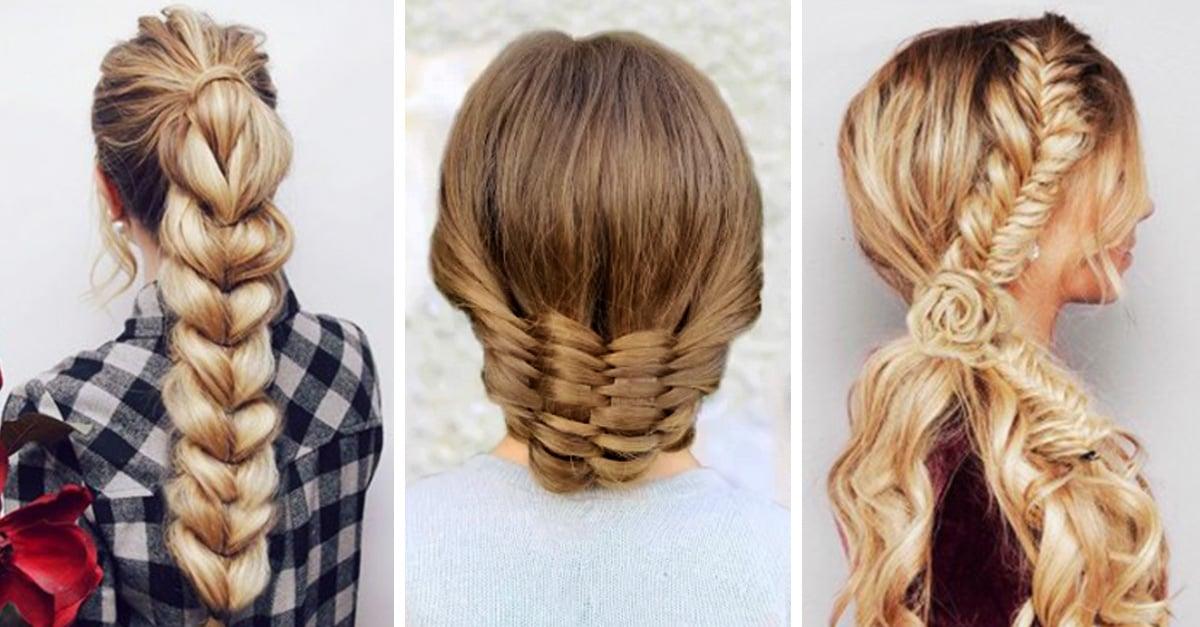 15 tipos de peinados con trenzas que te encantar n - Chicas con trenzas ...