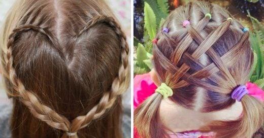 Peinados para niñas fáciles y rápidos