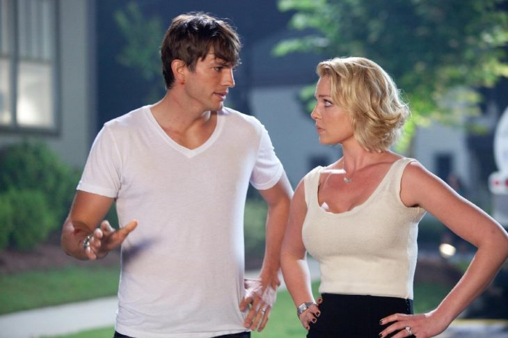 Ashton Kutcher y Katherine Heigl