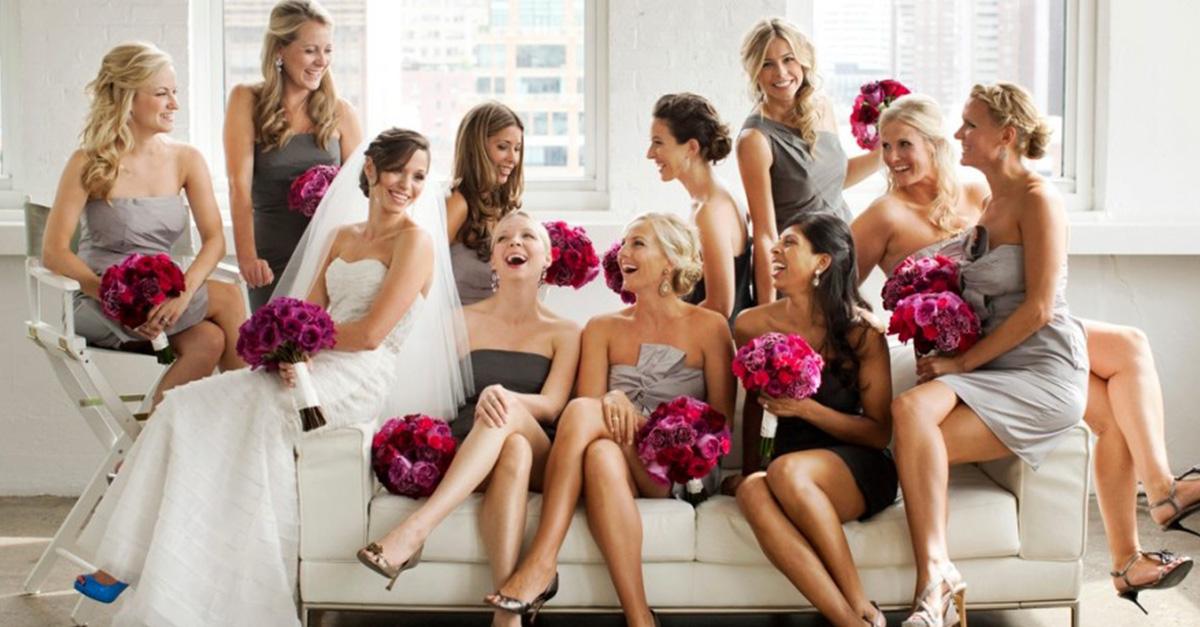 15 Cosas que pasan cuando eres la primera en casarte de tu grupo de amigas