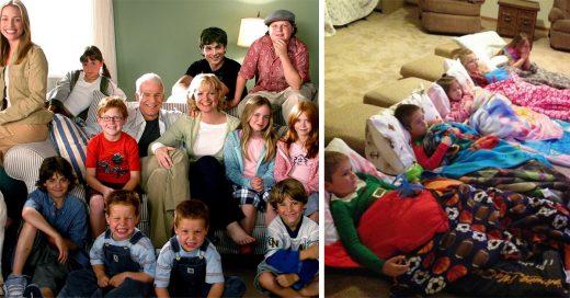 Situaciones que solo tienen sentido para las familias grandes