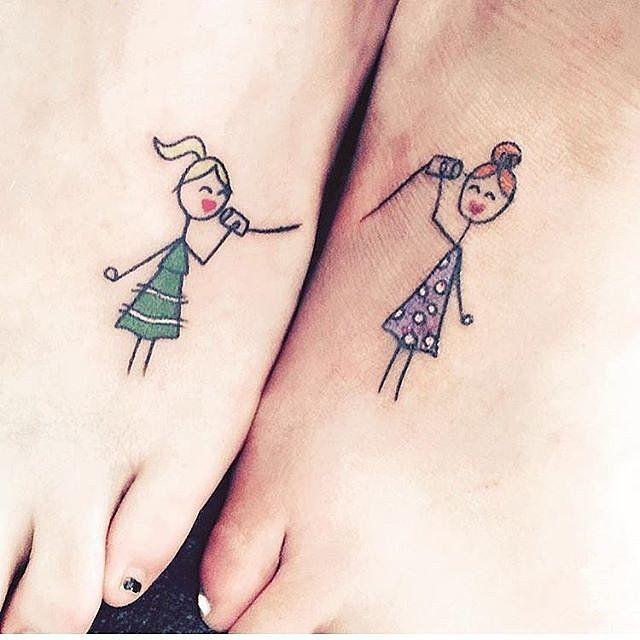 30 Ideas De Tatuajes Bonitos Y Pequeños Para Hermanas