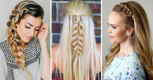 maneras diferentes e increbles de llevar una trenza si tienes el cabello largo