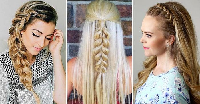15 maneras de llevar una trenza si tienes el cabello largo - Trenzas Pelo Largo