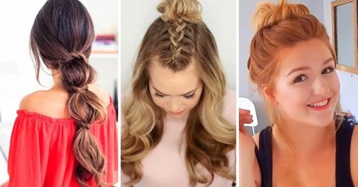 Tutoriales de peinados para chicas flojas