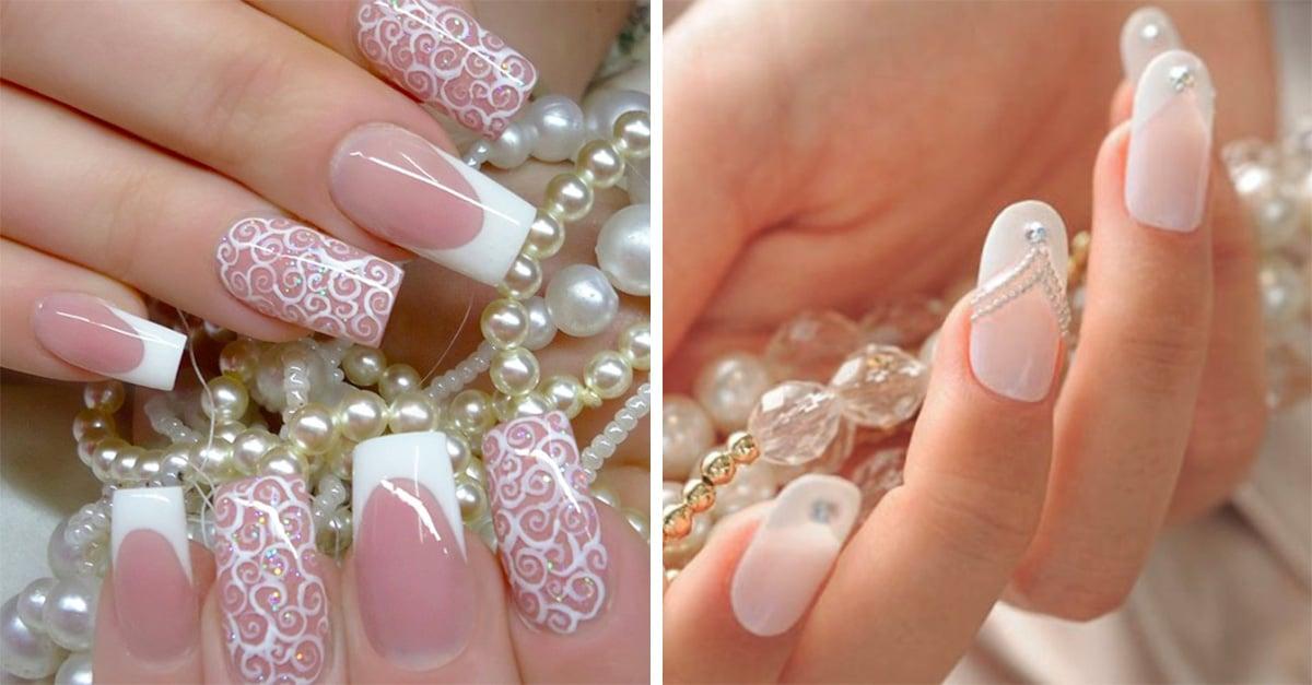 Ideas de uñas para el día de tu boda