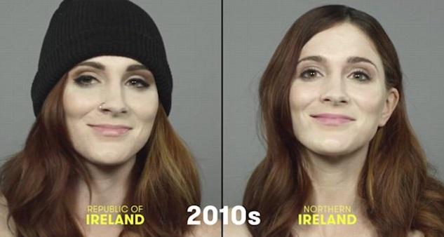 100 años de belleza Irlanda 2010