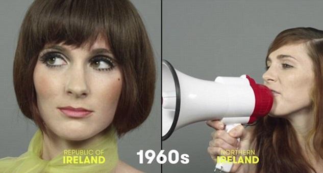 100 años de belleza Irlanda 1960
