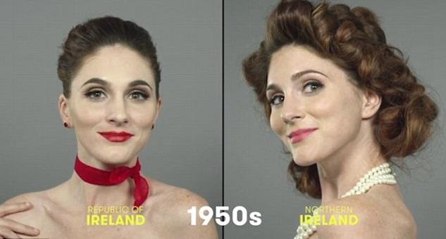 100 años de belleza Irlanda 1950