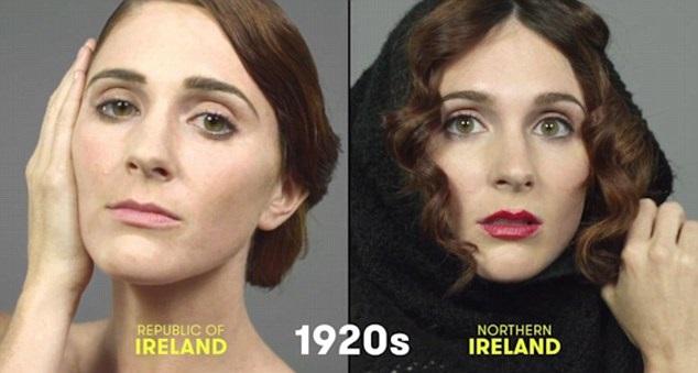 100 años de belleza Irlanda 1920