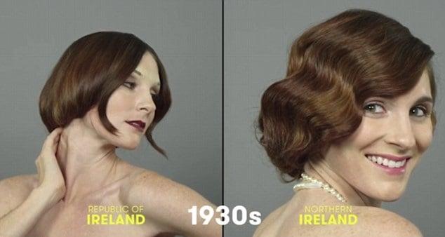 100 años de belleza Irlanda 1930