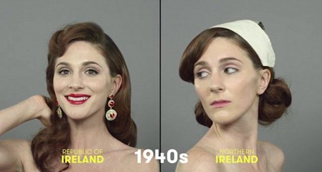 100 años de belleza Irlanda