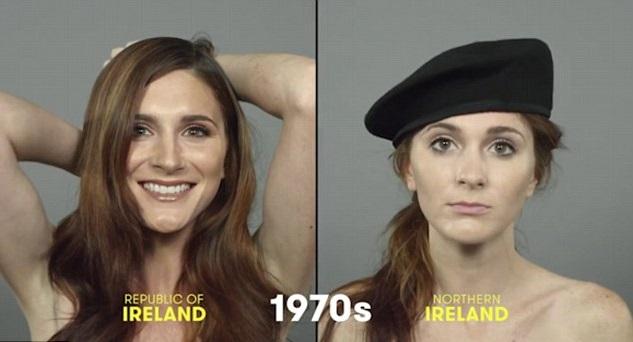 100 años de belleza Irlanda 1970