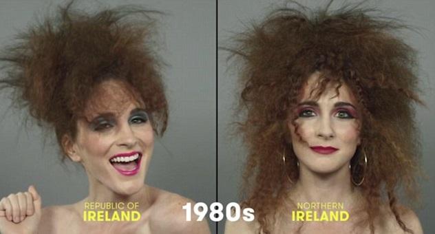 100 años de belleza Irlanda 1980
