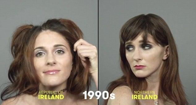 100 años de belleza Irlanda 1990