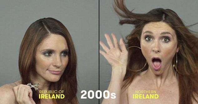 100 años de belleza Irlanda 2000