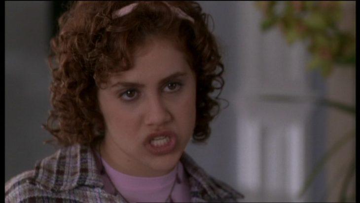 Escena de la película clueless chica enojada