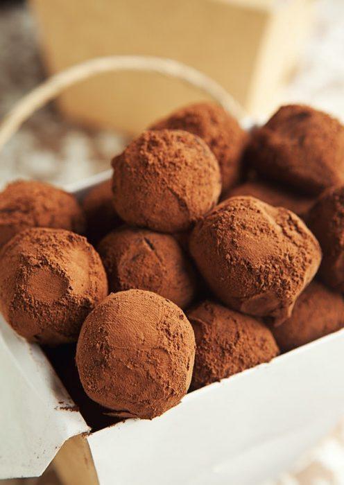trufas con Nutella