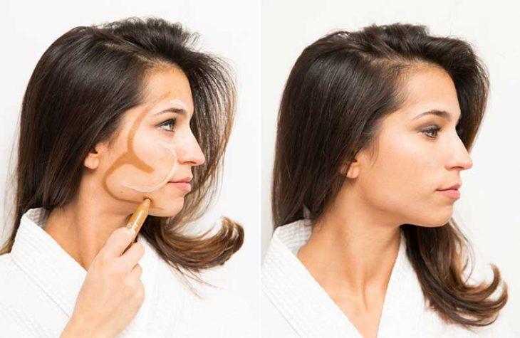 truco para iluminar rostro