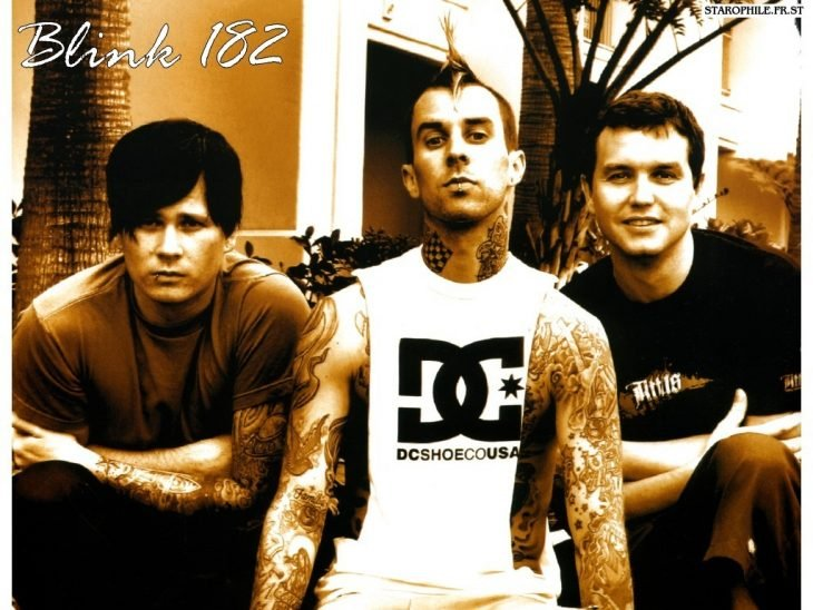 Integrantes del grupo blink 182