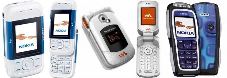 Celulares lujosos del 2006