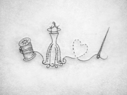 tatuaje modista