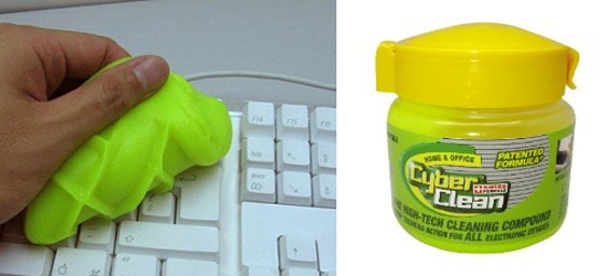 goma para limpiar teclados