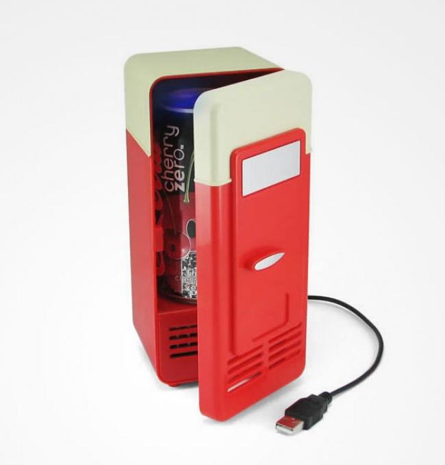 mini refrigerador para lata usb
