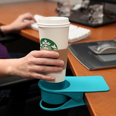 soporte para café de escritorio