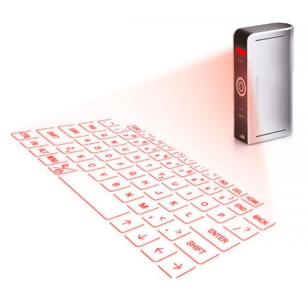 teclado laser