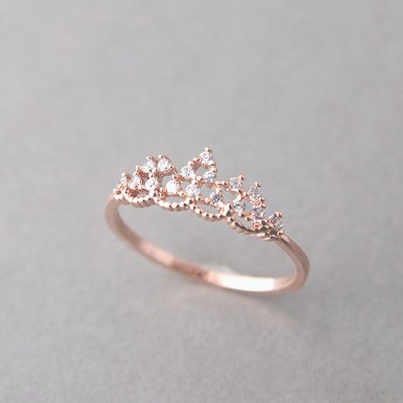 25 anillos en forma de corona que toda princesa merece - Modelos de coronas ...