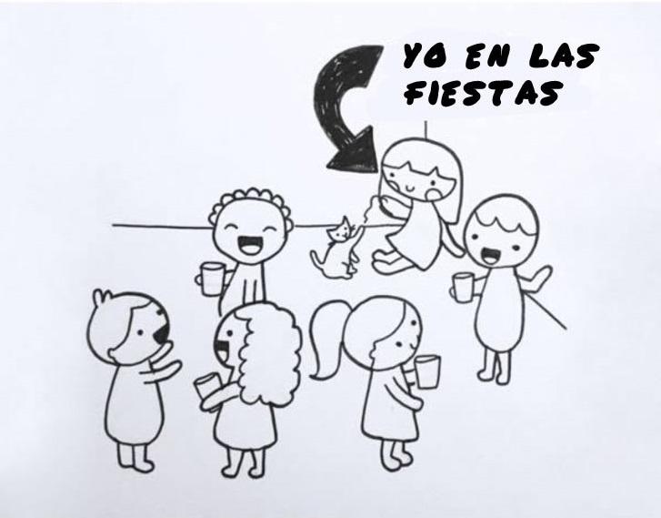 ilustración yo en las fiestas