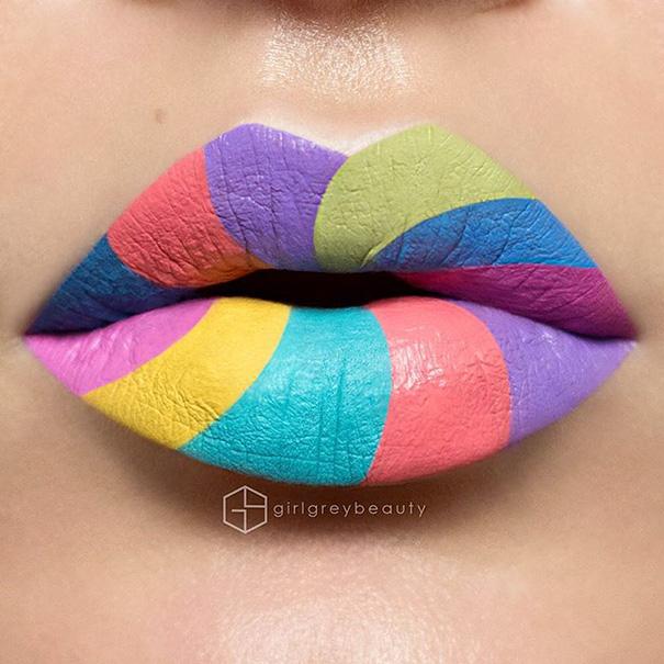 Arte labial de Andrea Reed