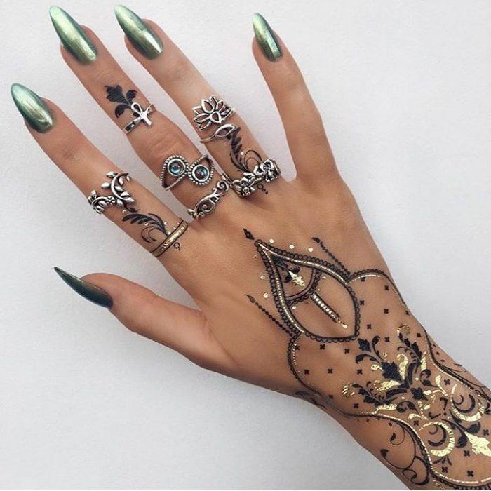 tatuaje henna