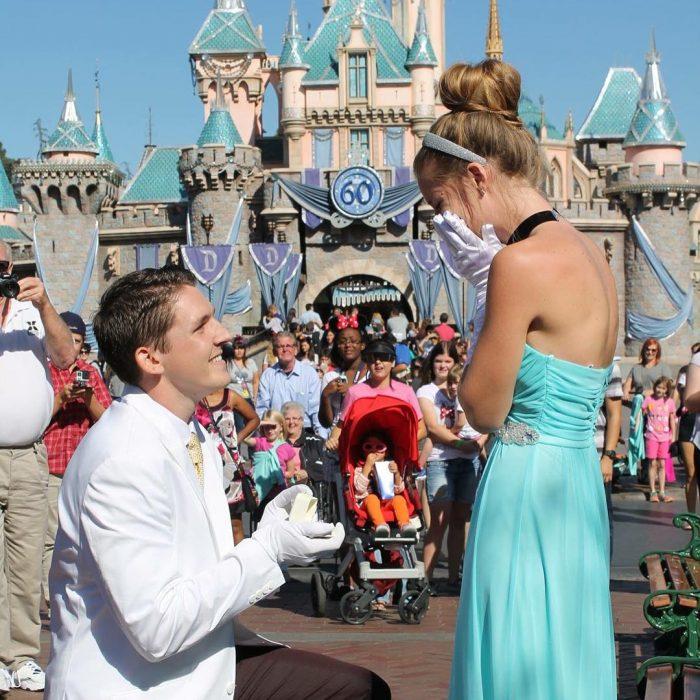 propuesta de matrimonio en Disney