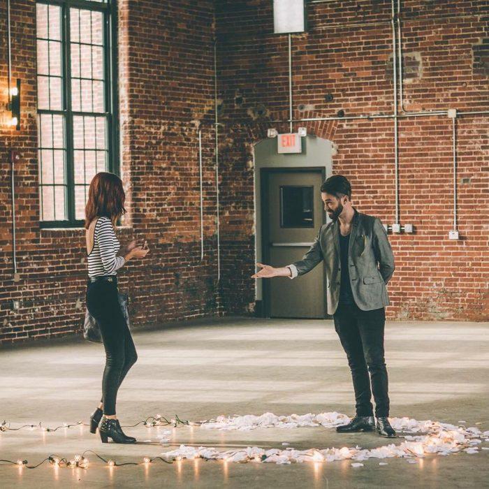 propuesta de matrimonio hipster