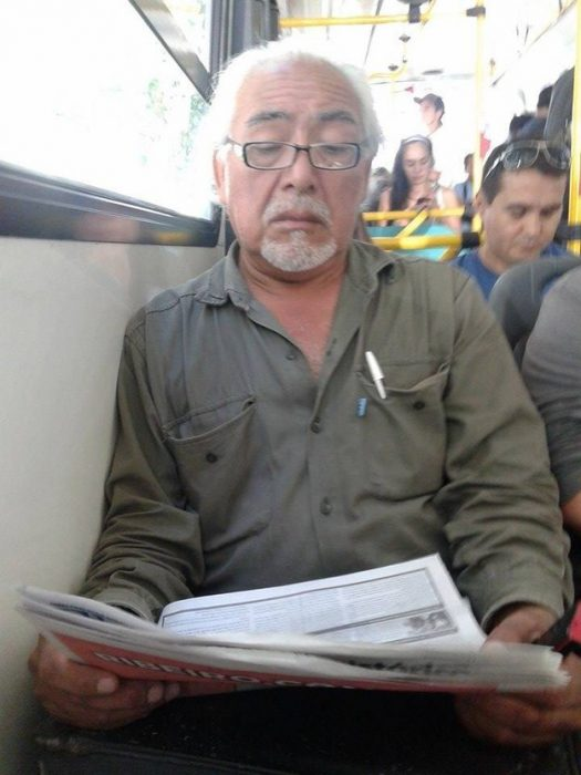 persona parecida a sr. Miyagui