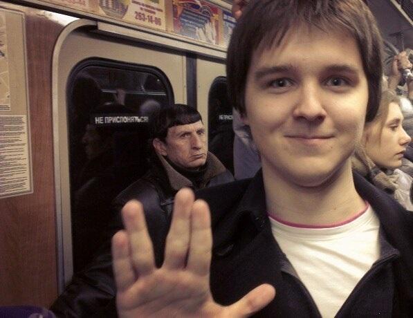persona parecida al Sr. Spock