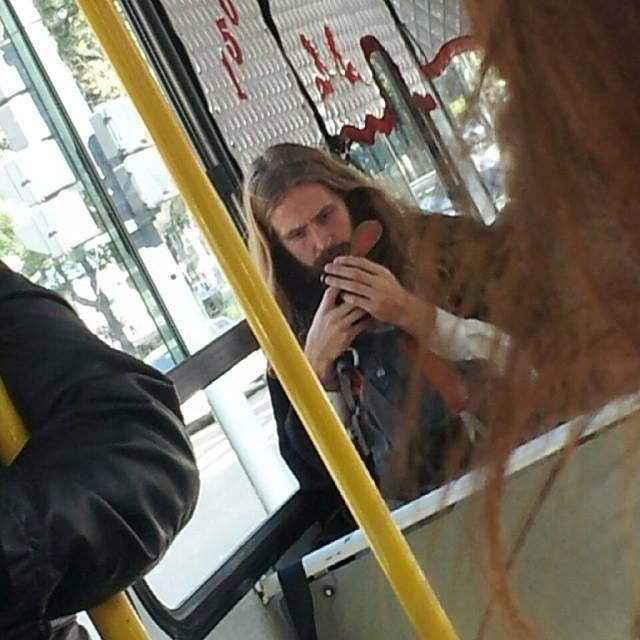 persona parecida a Jesucristo