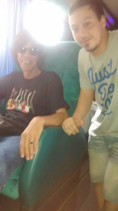 persona parecida a Mick Jagger