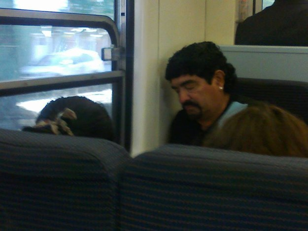 persona parecida a Maradona