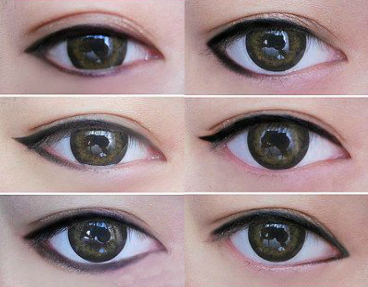 tutorial para delinear ojos asiaticos