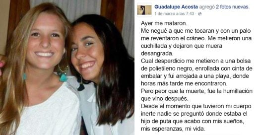 """Ayer me mataron"", la carta viral dedicada a las turistas argentinas asesinadas en Ecuador"