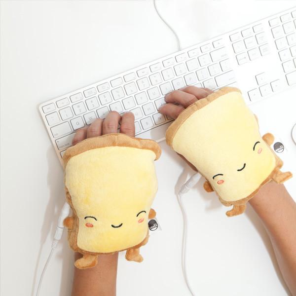 Calentadores en forma de pan tostado